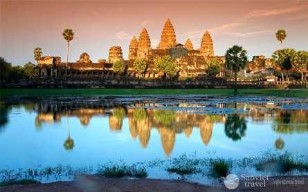 Du lịch Campuchia 4 ngày Siêm Riệp – Phnompenh giá tốt 2018 từ Hà Nội