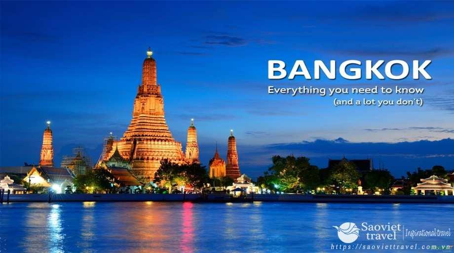 Du lịch Thái Lan hè 2018  Bangkok – Pattaya giá tốt  từ Sài Gòn