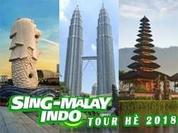 Du lịch Singapore Malaysia Indonesia 6 ngày dịp hè 2018 từ Sài Gòn giá tốt