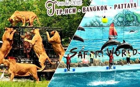 Tour Thái Lan Bangkok – Pattaya hè 2018 giá tốt khởi hành từ Sài Gòn