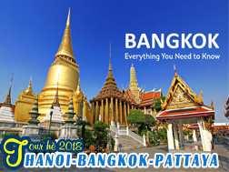 Tour Du lịch Thái Lan dịp hè 2020 giá tốt từ Hà Nội