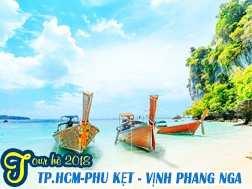 Du lịch Thái Lan hè 2018 Phuket Vịnh Phang Nga giá tốt từ Sài Gòn