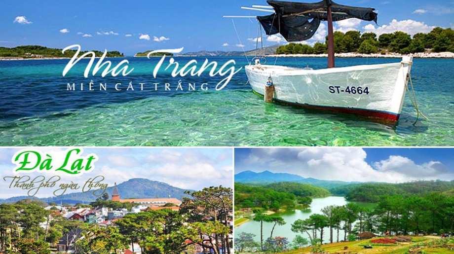 Du lịch Nha Trang – Đà Lạt 5 ngày 4 đêm giá tốt 2020