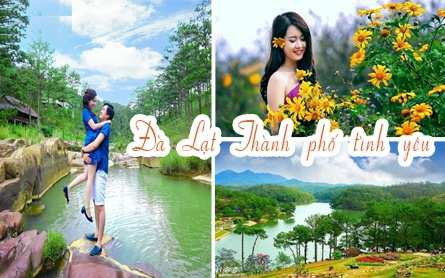 Du lịch Đà Lạt 3 ngày 2 đêm giá tiết kiệm khởi hành từ Hà Nội 2019
