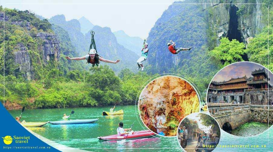 Du lịch hè 2021 – Đà Nẵng – Bà Nà – Hội An – Huế – Động Phong Nha 5 ngày từ Sài Gòn