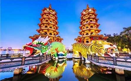 Du Lịch Đài Loan – Đài Bắc –  Đài Trung  – Cao Hùng – Giá tốt từ Tp.HCM Bay VietJet Air