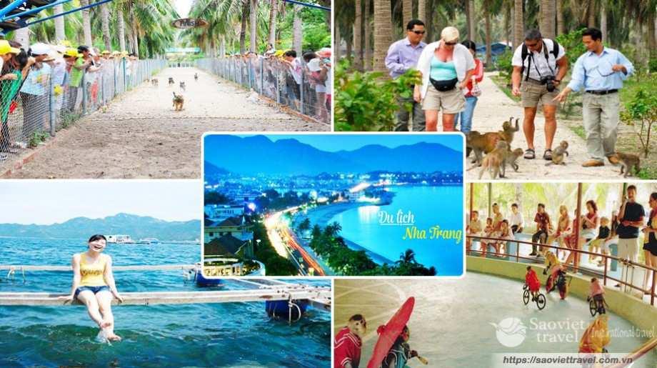 Tour hè Du lịch Nha Trang – Đảo Khỉ 3 Ngày 2 Đêm giá tốt từ Sài Gòn