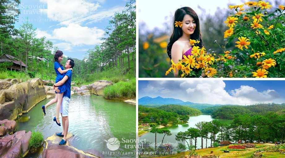 Du lịch Đà Lạt 3 ngày 2 đêm giá tiết kiệm khởi hành từ Hà Nội 2018