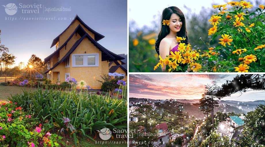Du lịch Đà Lạt 4 ngày 3 đêm giá tốt nhất từ Hà Nội