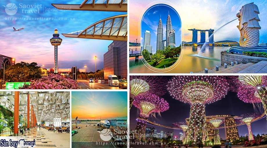 Du lịch Singapore – Malaysia 4 ngày từ Sài Gòn giá tốt nhất 2019 – bay Vietnam airlines