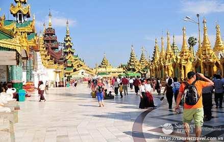 Du lịch Myanmar 4 ngày 3 đêm giá tốt 2018 khởi hành từ Sài Gòn