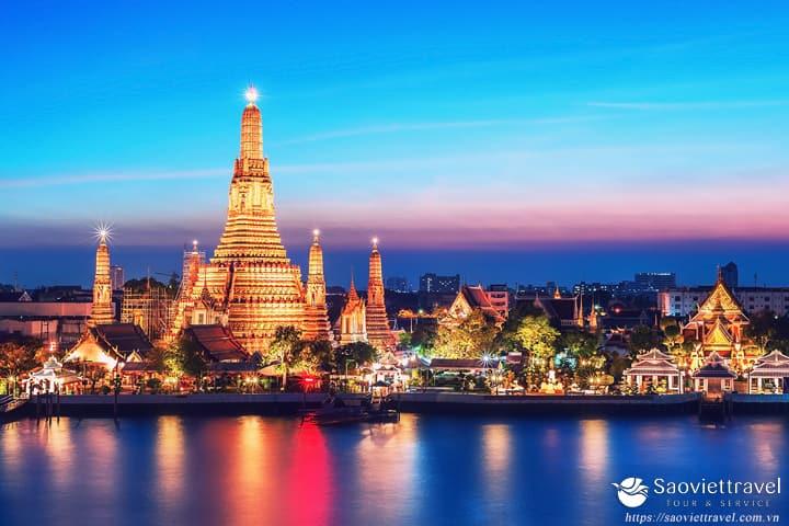 Du lịch Thái Lan Bangkok – Pattaya 4 ngày giá tốt nhất 2018 từ Sài Gòn