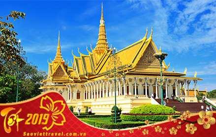 Du lịch Campuchia Siem Reap – Phnom Penh dịp Tết Nguyên Đán 2019
