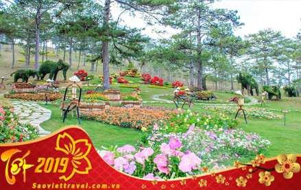 Chương trình du lịch Đà Lạt Tết Nguyên Đán 2019 giá tốt từ Sài Gòn