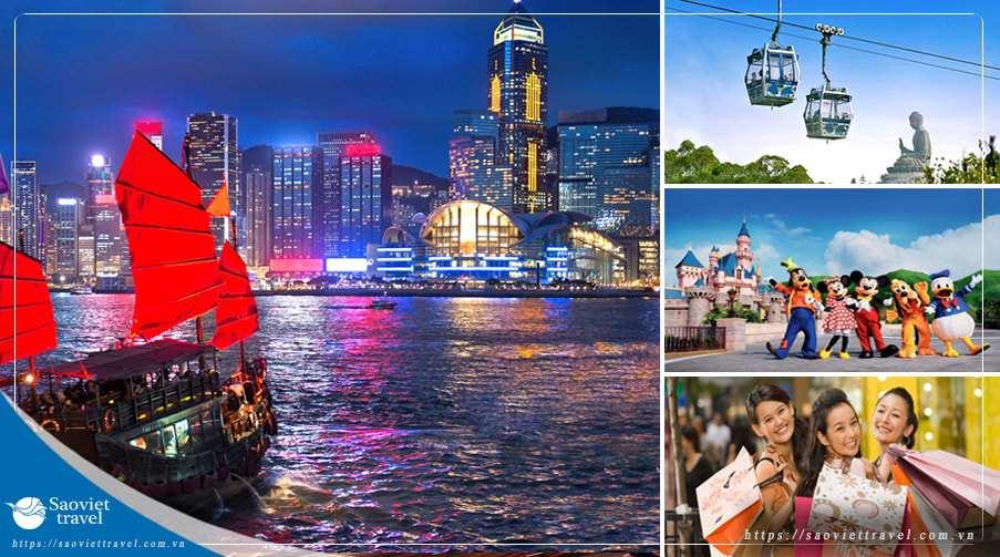 Du lịch Hồng Kông 4 ngày 3 đêm giá tốt 2019 khởi hành từ Tp.HCM