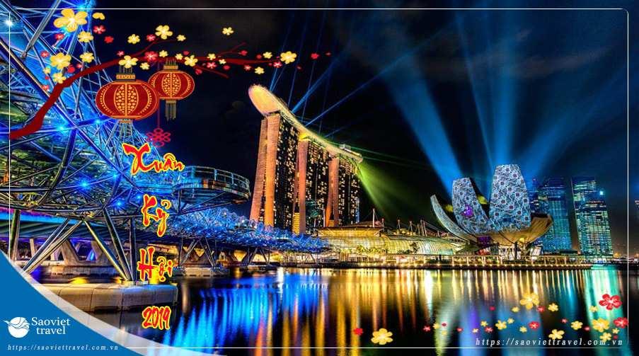 Du lịch Singapore Malaysia tết 2019 khởi hành từ Sài Gòn giá tốt