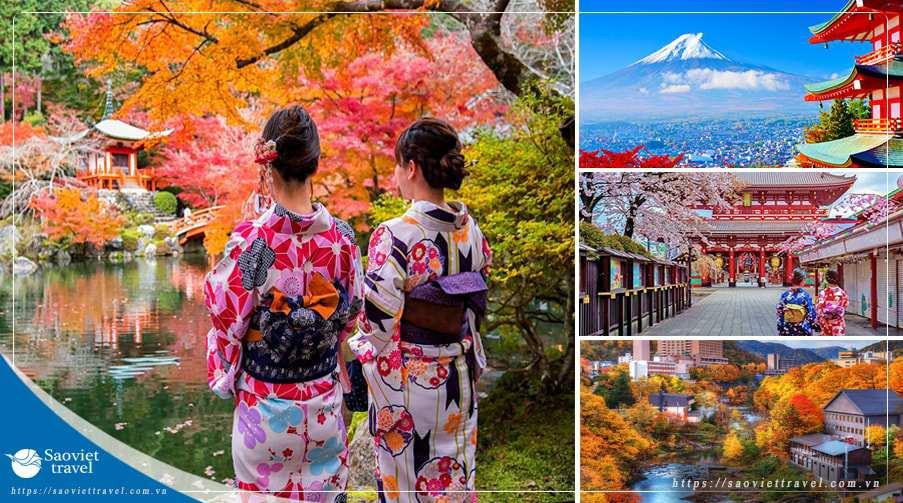 Tour Du lịch Nhật Bản 6 ngày 5 đêm giá tốt khởi hành từ Sài Gòn