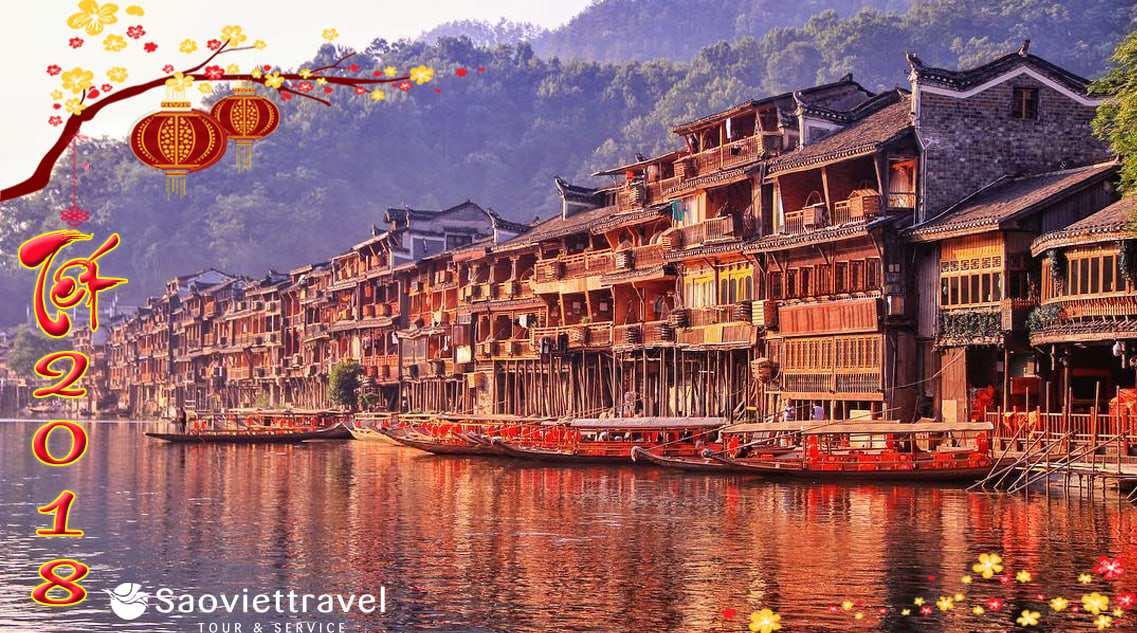 Du lịch Trung Quốc 4 ngày Tết Nguyên Đán 2021 giá ưu đãi từ TP.HCM