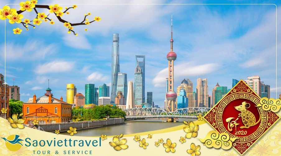 Du lịch Trung Quốc Tết Âm lịch 2020 – Thượng Hải – Hàng Châu – Tô Châu từ Sài Gòn