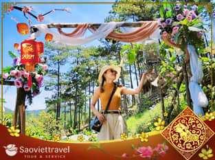 Du lịch Đà Lạt 4 ngày 3 đêm dịp Tết Nguyên Đán 2021 giá tốt từ Sài Gòn