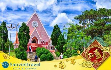 Du lịch Đà Lạt 4 ngày 3 đêm dịp Tết Nguyên Đán 2020 giá tốt từ Sài Gòn