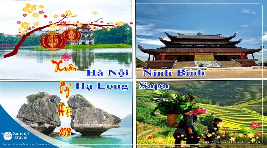 Du lịch Hà Nội – Hạ Long – Sapa – Ninh Bình Tết 2019 giá tốt từ TP.HCM