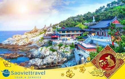Du lịch Hàn Quốc tết nguyên đán 2020 khởi hành từ Sài Gòn giá tốt