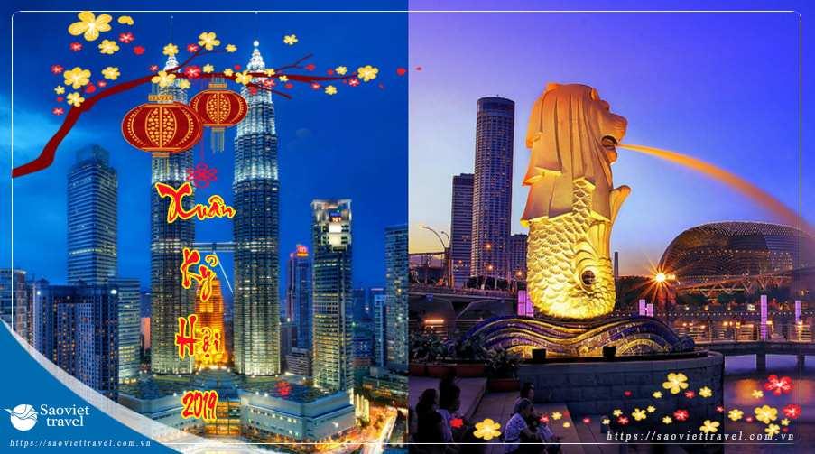 Du lịch Singapore Malaysia tết 2019 giá tốt khởi hành từ TP.HCM