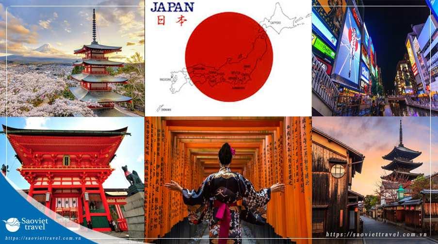 Du lịch Nhật Bản 6 ngày 5 đêm khởi hành từ Sài Gòn giá tốt 2020