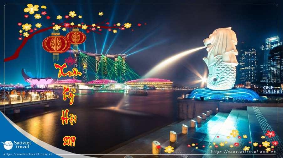 Du lịch Singapore tết 2019 giá tốt dịp tết Nguyên Đán từ Sài Gòn