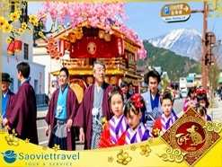 Tour Du lịch Nhật Bản Tết Âm lịch 4 ngày 3 đêm từ Sài Gòn giá tốt 2020