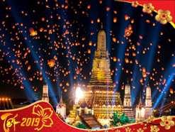 Du lịch Thái Lan Tết Nguyên Đán 2019 giá tốt khởi hành từ Tp.HCM