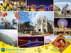 Tour Đà Nẵng tết 2021 – Hội An – Huế – Động Phong Nha từ TP.HCM giá tốt