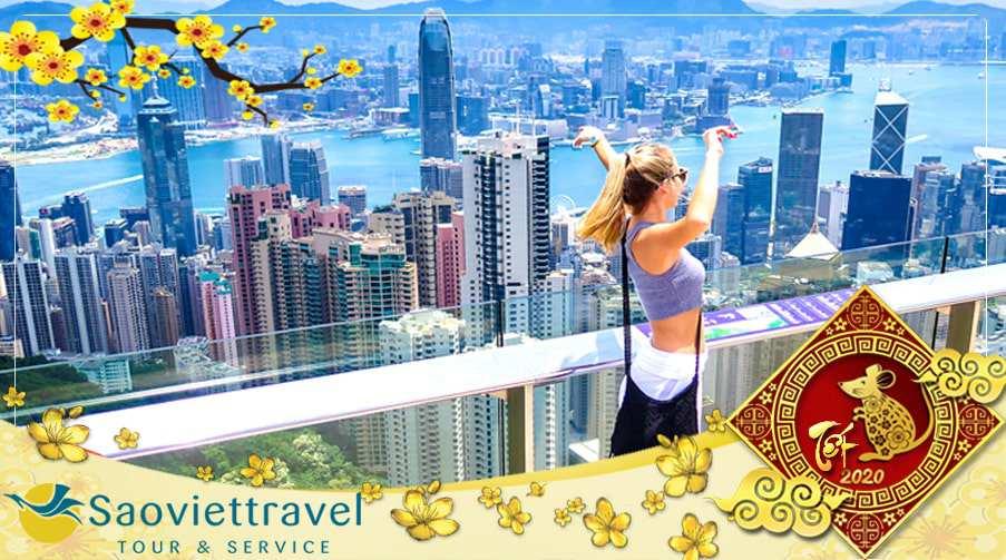 Du lịch Hồng Kông Tết 2020 – Thẩm Khuyến – Quảng Châu 5 ngày từ Sài Gòn