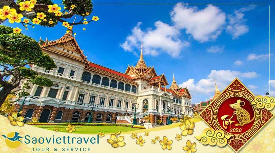 Du lịch Thái Lan Tết Tân Sửu 2021 giá tốt khởi hành từ Tp.HCM