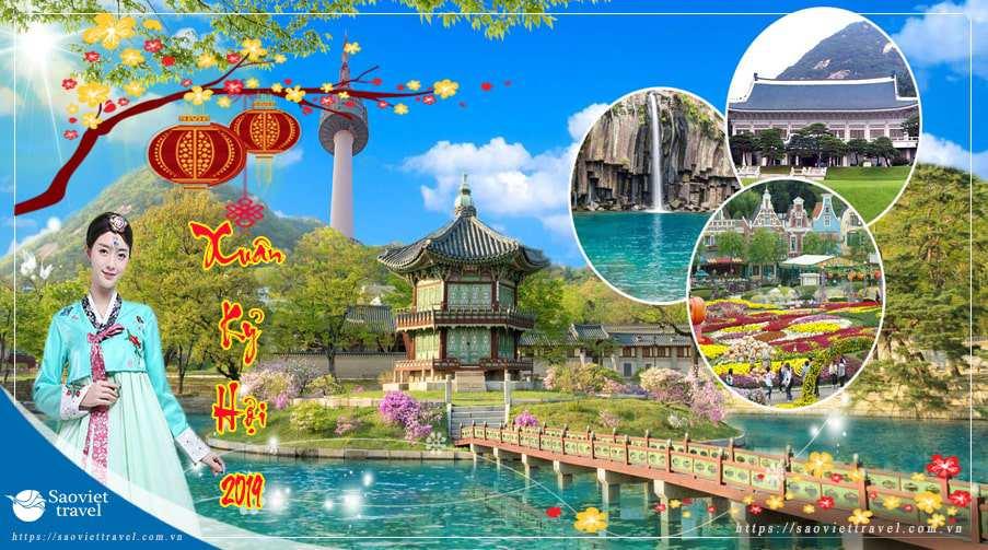 Du lịch Hàn Quốc 4 ngày dịp Tết Nguyên Đán 2019 giá tốt từ Sài Gòn