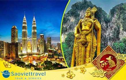 Tour du lịch Tết nguyên đán 2020 – Singapore – Malaysia  giá tốt từ Sài Gòn