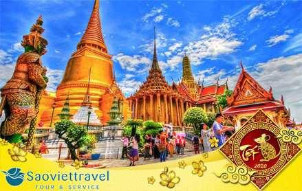 Tour Du Lịch Thái Lan Tết âm lịch 2020 khởi hành từ TP.HCM giá tốt