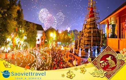 Du lịch Thái Lan tết nguyên đán 2020 – Bangkok – Pattaya 5 ngày 4 đêm từ Sài Gòn – TOUR CAO CẤP