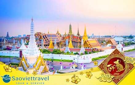 Du lịch Thái Lan Tết Canh Tý 2020 giá tốt khởi hành từ Tp.HCM