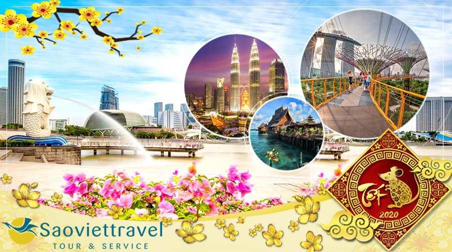 Du lịch Tết Nguyên Đán 2021 – Singapore – Malaysia – Indo từ Hà Nội giá tốt