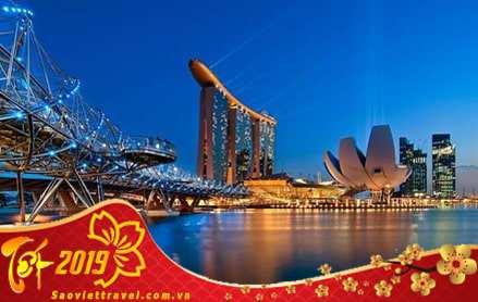 Du lịch Singapore Malaysia 5 ngày dịp Tết 2019 giá tốt nhất từ Hà Nội