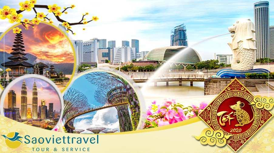 Du lịch Tết nguyên đán 2020 – Singapore – Malaysia – Indonesia khởi hành từ Sài Gòn giá tốt