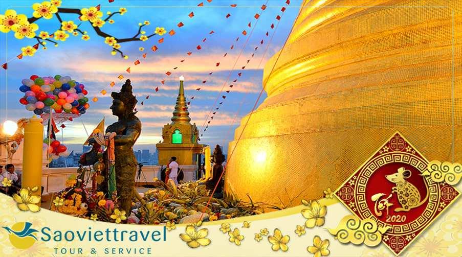 Du lịch Tết âm lịch 2020 Tour Thái Lan 4 ngày Bangkok – Pattaya từ TPHCM giá tốt
