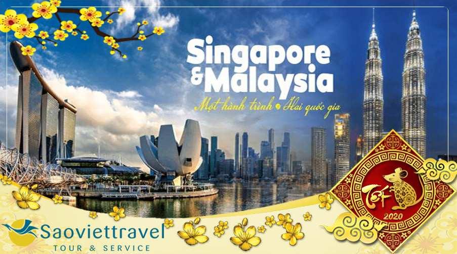 Tour Du lịch Singapore Malaysia 5 ngày dịp Tết 2021 giá tốt từ Hà Nội