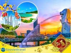 Du lịch Tết Nguyên Đán 2020 – Sing – Malay – Indo 6 ngày giá tốt từ Tp.HCM – Tour Cao Cấp