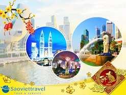 Du lịch Tết Nguyên Đán 2020 – Singapore – Malaysia – Indo từ Hà Nội giá tốt