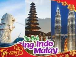 Du lịch Sing – Malay – Indo 6 ngày dịp Tết Nguyên Đán 2019 giá tốt từ TP.HCM – Tour Cao Cấp