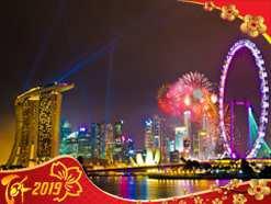 Du lịch Sing – Malay – Indo 6 ngày dịp Tết Nguyên Đán 2019 Giá ưu đãi từ Hà Nội