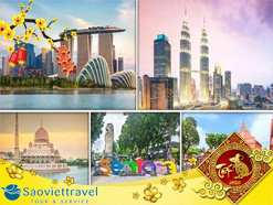 Du lịch Tết nguyên đán 2021 – Singapore – Malaysia – Indonesia khởi hành từ Sài Gòn giá tốt